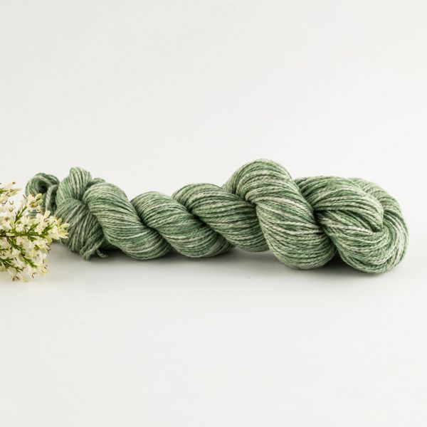 green merino wool yarn