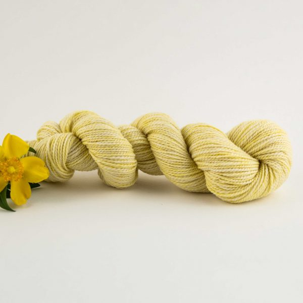 yellow merino wool yarn