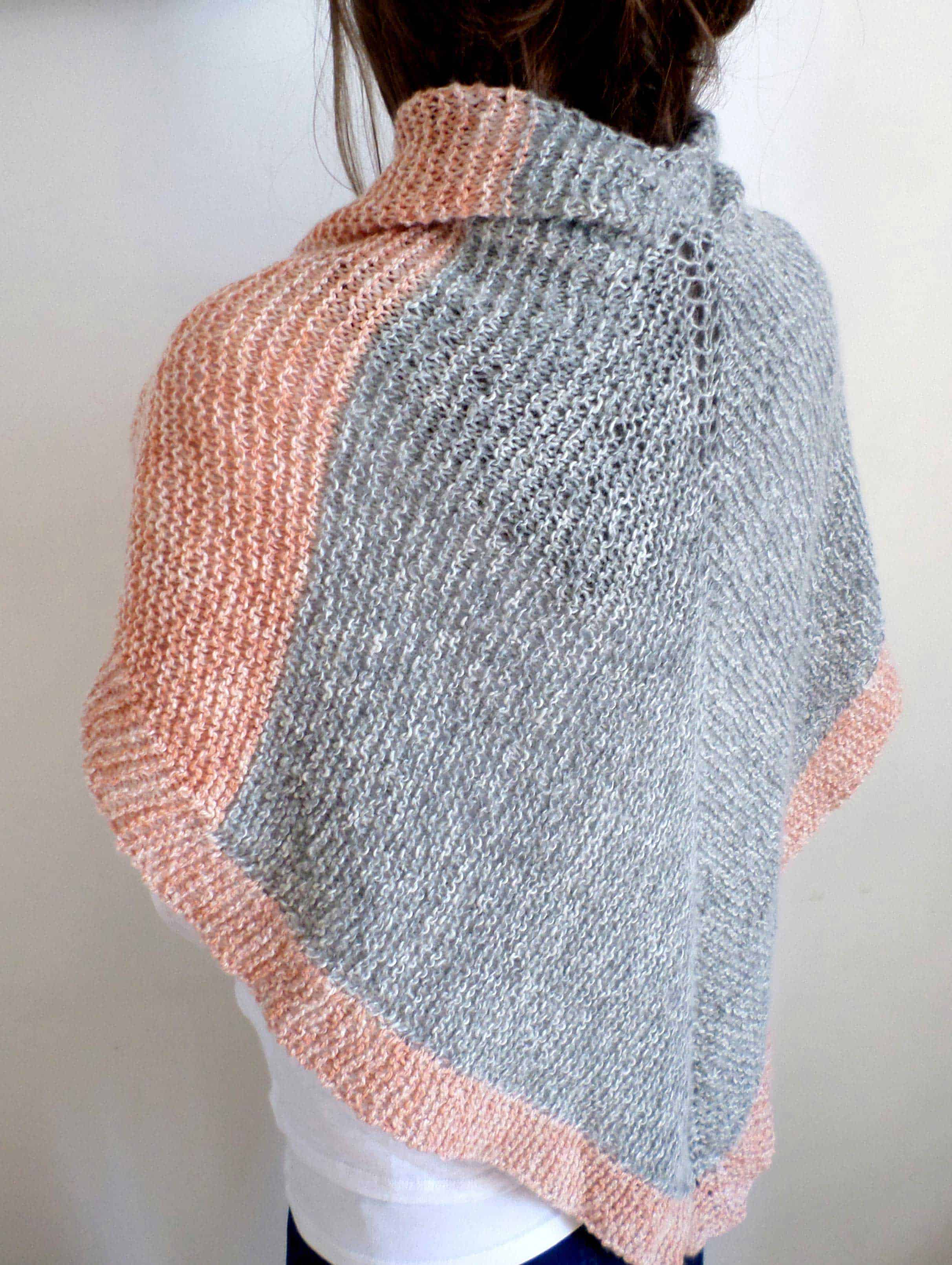 the mineral shawl knit kit unique yarns co. Black Bedroom Furniture Sets. Home Design Ideas