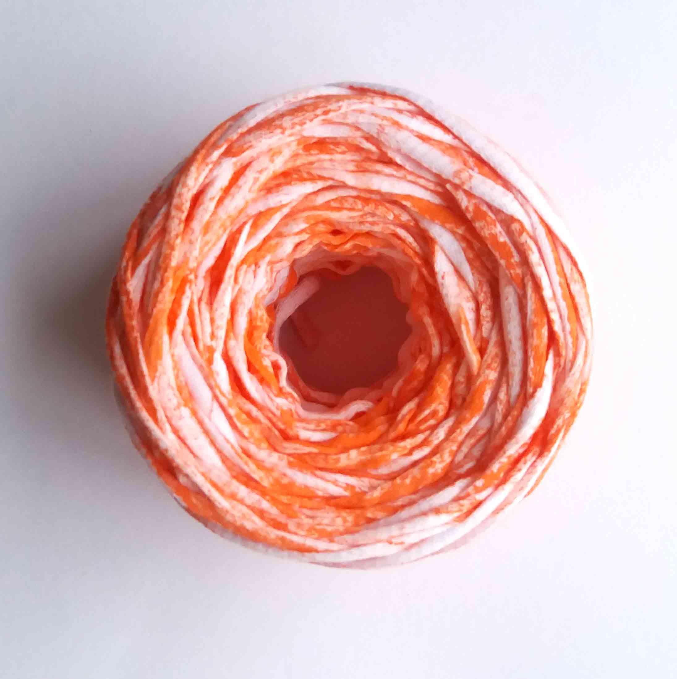 Brilliant Orange Crayon – 50gr Yarn Cake