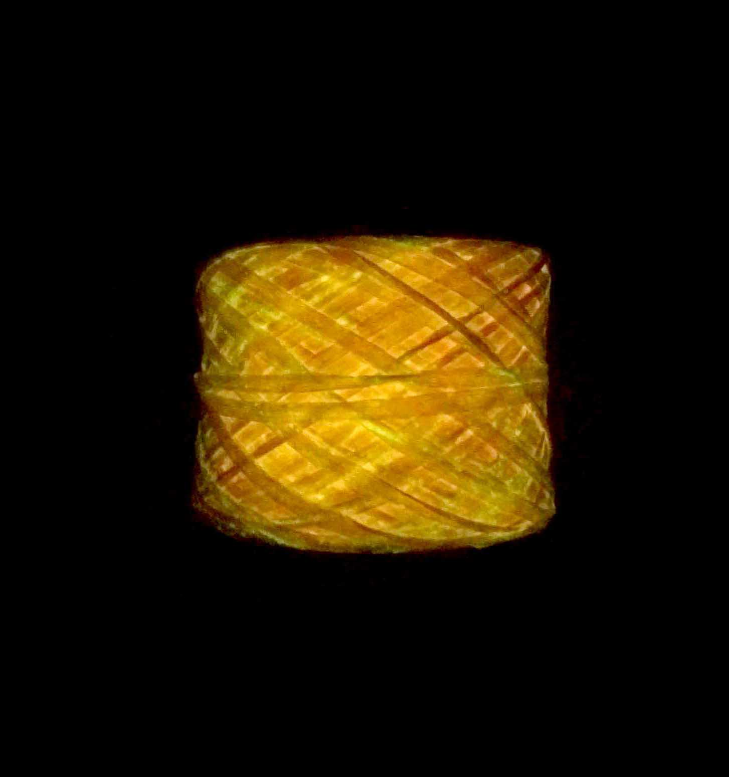Glow-in-the-dark Yarn – Orange Phosphorescent – Rayon