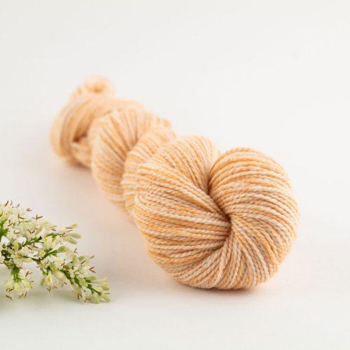 ornage merino wool yarn