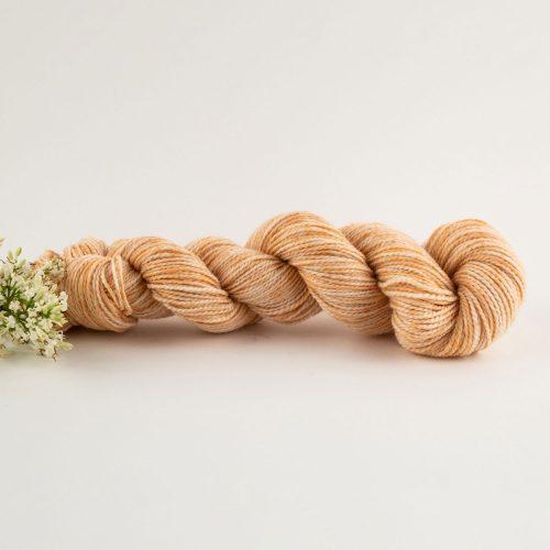 orange merino wool yarn