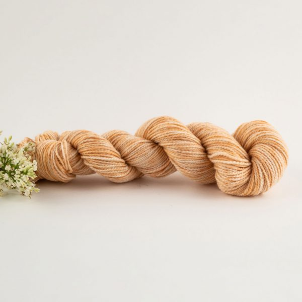 orange merino wool yarn