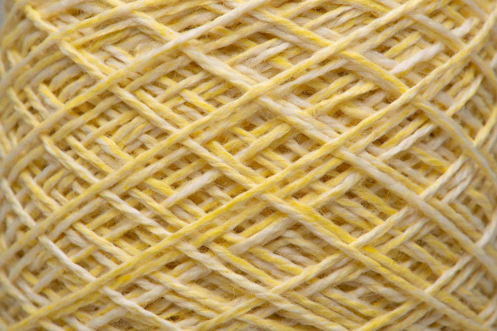 Yellow Ochre-dyed 100% Merino Wool