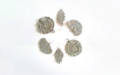 The Moonlight Earrings Crochet Pattern