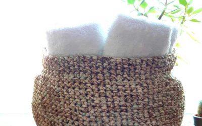 The Granite Basket Crochet Pattern