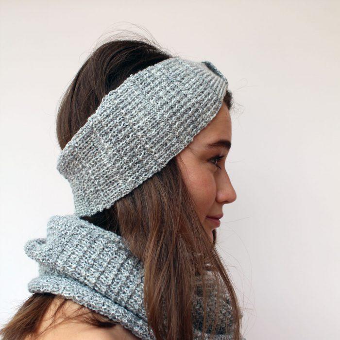 Simple Textured Headband Knitting Pattern