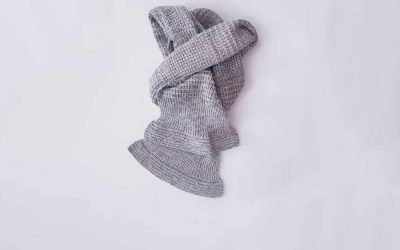 Simple Textured Scarf Knitting Pattern