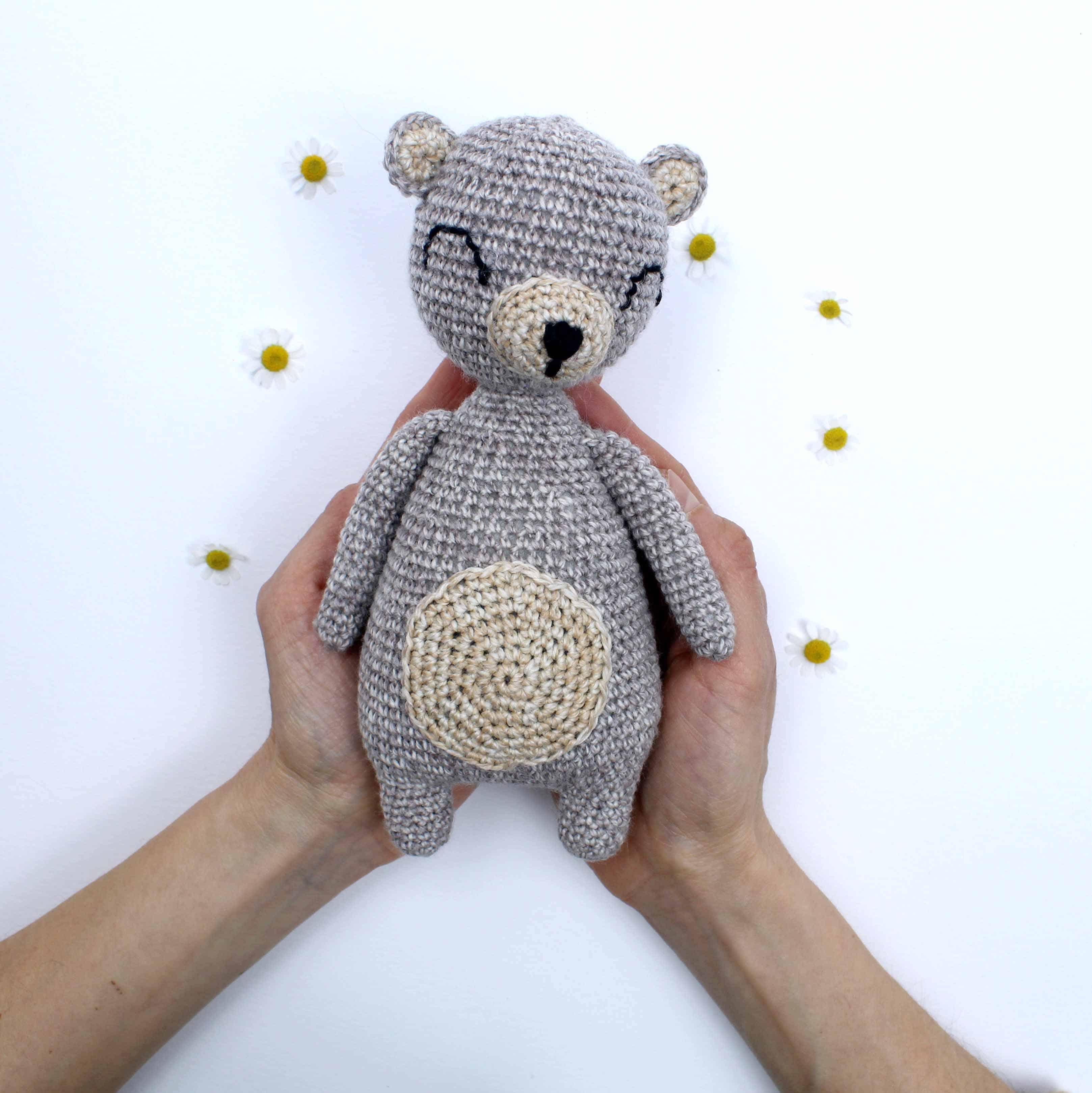 Awesome Free Crochet Teddy Amigurumi Bear Pattern - Free Amigurumi ...   3239x3235