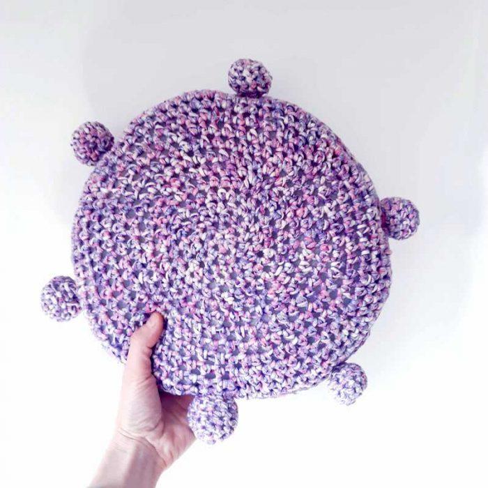 Cheer Crochet Pillow Crochet Pattern