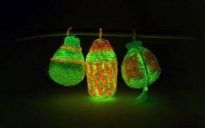Lucky Chinese Lanterns – Balloon Lantern Crochet Pattern