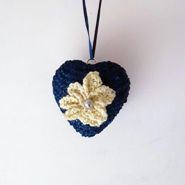 Romantic Knitted Hearts