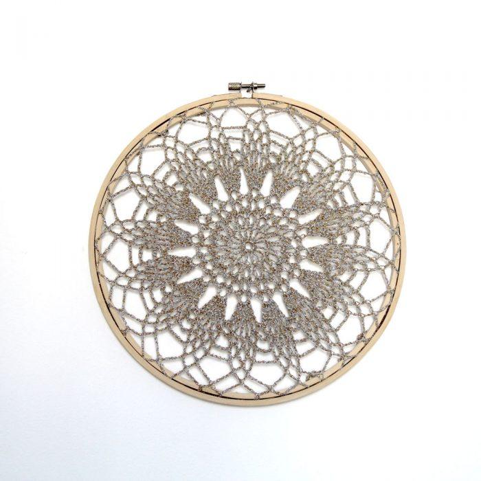 Dream Catcher Earring Holder – Crochet pattern