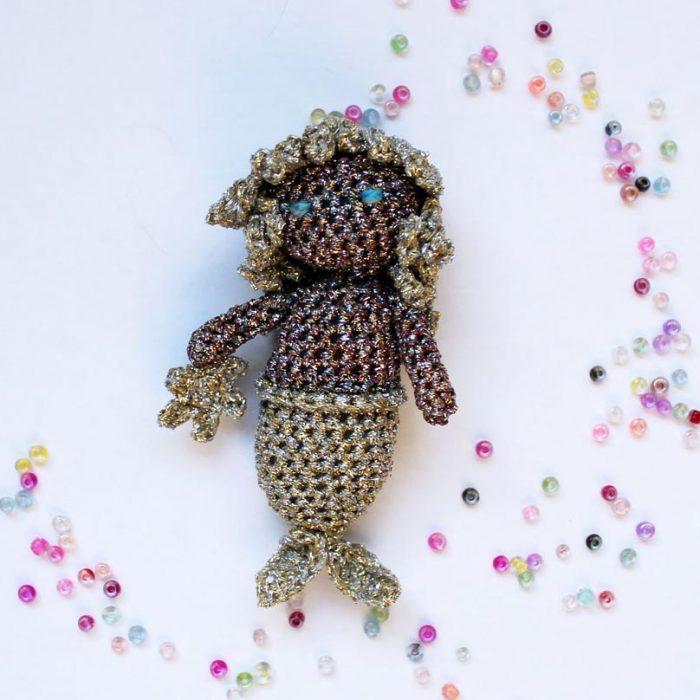 Little Shiny Mermaid Crochet Pattern