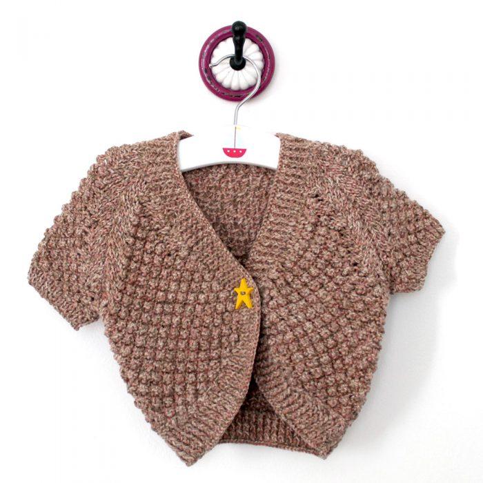 Child Bolero – Knitting Pattern