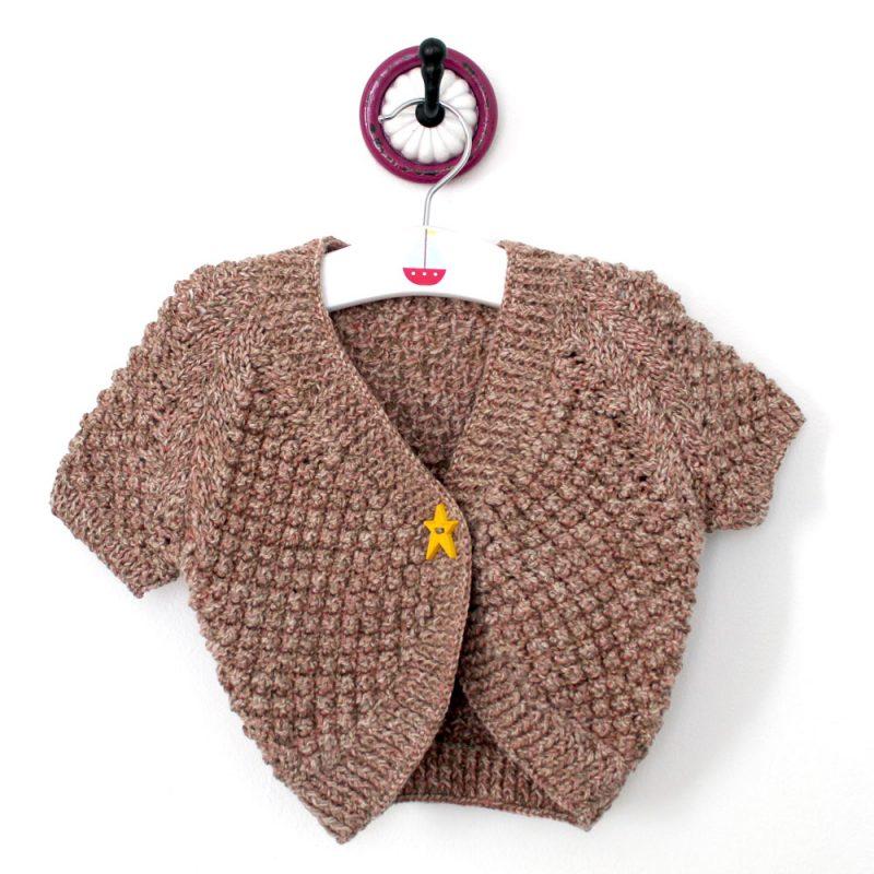 Child-bolero-free-knitting-pattern | Unique Yarns Co.